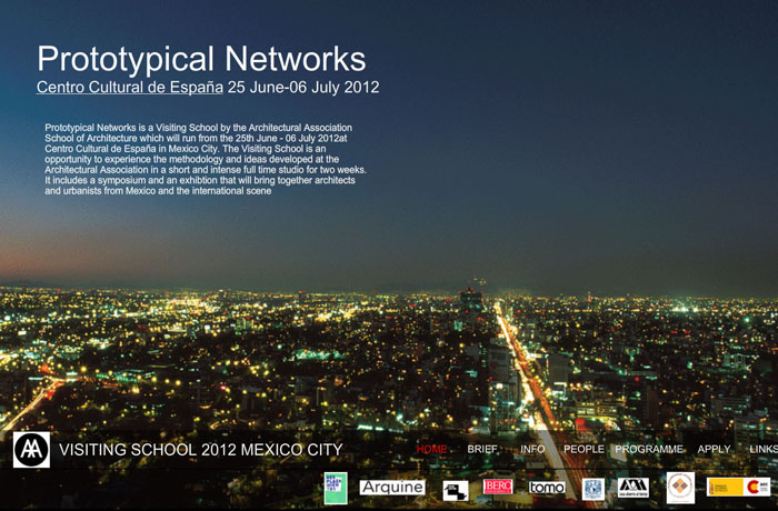 AA Mexico City Visiting School 2012 Applications Open