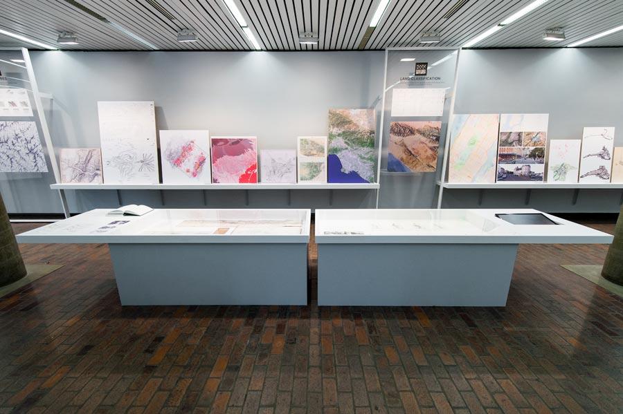Groundlab at Cartographics exhibition at GSD Harvard